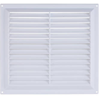 Map Vent Gas Louvre Vent White 229 x 229mm