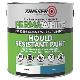 Zinsser Self-Priming Paint Satin White 2.5Ltr