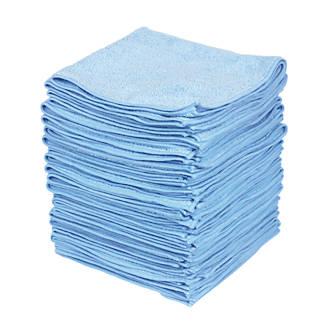 Microfibre Cloth Blue 380 x 380mm 50 Pack