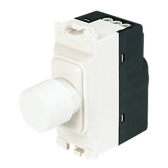 MK 1-Gang Dimmer Switch Low Voltage 220W White