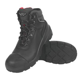 Uvex Quatro Pro   Safety Boots Black Size 11