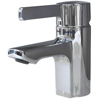 Franke F5L-Mix F5LM1001 Single Lever Commercial Bathroom Pillar Mixer Tap Chrome