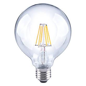 LAP  ES Globe LED Virtual Filament Light Bulb 640lm 7W
