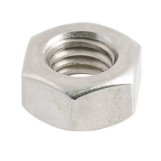 Easyfix A2 Stainless Steel Hex Nuts M6 100 Pack