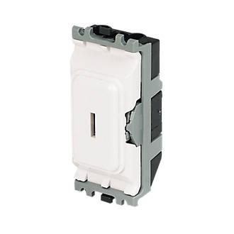 MK 20A 2-Way SP Secret Key Switch White
