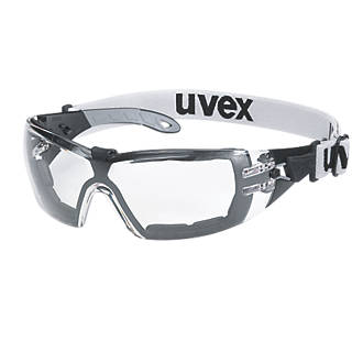 Uvex Pheos Guard Clear Lens Safety Specs