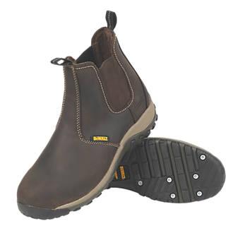 DeWalt Radial   Safety Dealer Boots Brown Size 8
