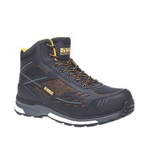 DeWalt Smithfield   Safety Trainer Boots Black / Brown Size 7