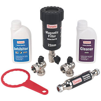Flomasta Central Heating Water Treatment Compliance Kit