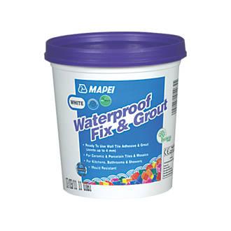 Mapei  Wall Waterproof Fix & Grout White 1.5kg