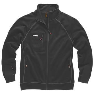 """Scruffs Delta Sweatshirt Black Medium 42"""" Chest"""