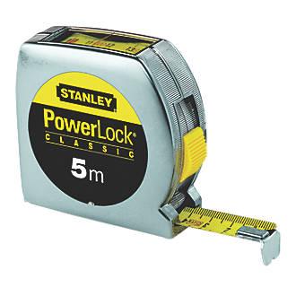 Stanley Powerlock Top Reader 5m Tape Measure