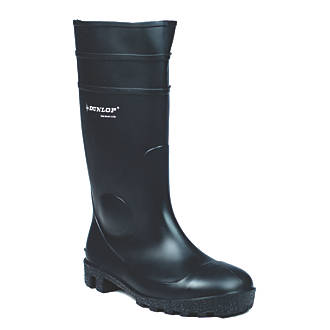 Dunlop Protomastor 142PP   Safety Wellies Black Size 12