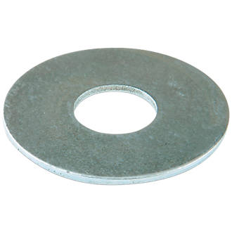 Easyfix Steel Large Flat Washers M3 x 0.8mm 100 Pack