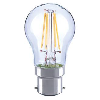 LAP  BC Mini Globe LED Virtual Filament Light Bulb 470lm 4.5W
