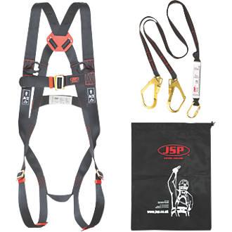 JSP Spartan Twin Tail Fall Arrest Kit with Lanyard 2m