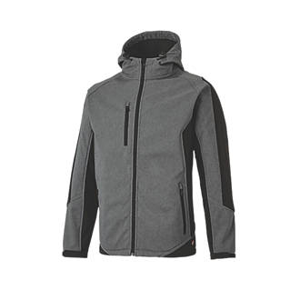 """Dickies Wakefield Reflective Jacket Grey / Black Large 46"""" Chest"""