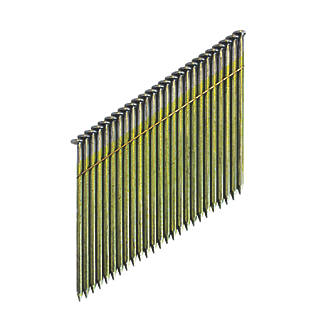DeWalt Bright Collated Framing Stick Nails 3.1 x 90mm 2200 Pack