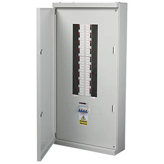 Chint Nxdb 18-Way 125A TP & N Meter Ready 3-Phase Distribution Board