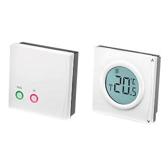 Danfoss RET2000B RF Wireless Digital Room Thermostat+ RX1-S RF Receiver