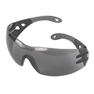 Uvex Pheos Smoke Grey Lens Safety Specs