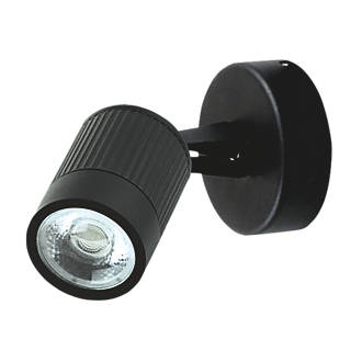 Luceco  Black LED Outdoor Wall Light 360lm 5W