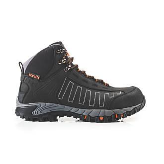 Scruffs Cheviot   Safety Trainer Boots Black Size 8