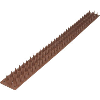 Security Solutions Brown Wall Spikes 8 Pack