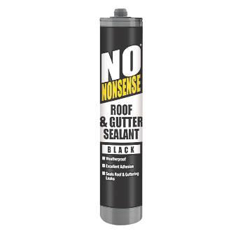No Nonsense Roof & Gutter Sealant Black 310ml