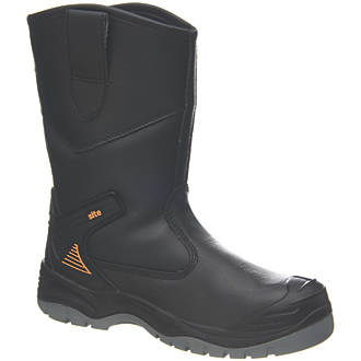 Site Hydroguard   Safety Rigger Boots Black Size 10