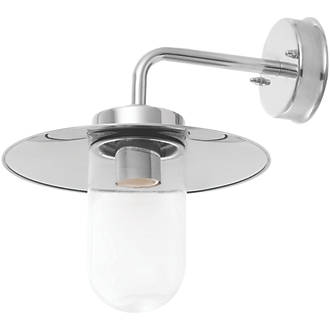 Station Wall Light Polished Stainless Steel