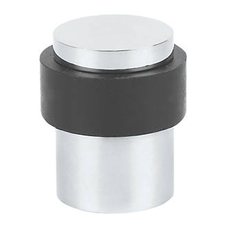 Eclipse Round Door Stop Polished Stainless Steel