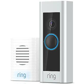 Ring Pro Pro Video Doorbell Silver / Black