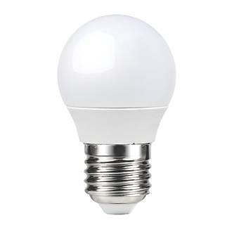 LAP  ES Mini Globe LED Light Bulb 470lm 6W 3 Pack