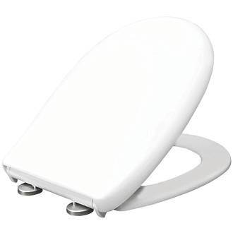 Carrara & Matta Vicenza Soft-Close with Quick-Release Toilet Seat Duraplast White