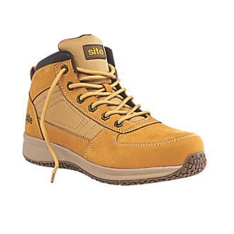 Site Sandstone   Safety Trainer Boots Wheat Size 9