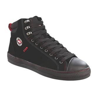 Lee Cooper 022   Safety Trainer Boots Black Size 11