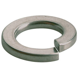 Easyfix A2 Stainless Steel Split Ring Washers M4 x 0.9mm 100 Pack