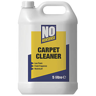 No Nonsense Carpet Cleaning Detergent 5Ltr