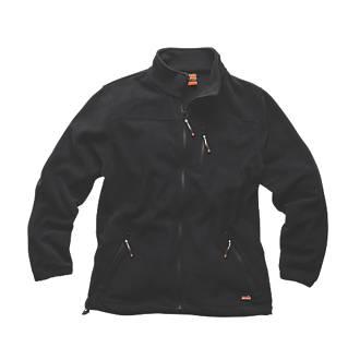 "Scruffs Worker Fleece Black Large 46"" Chest"