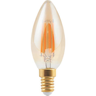Diall  SES Candle LED Light Bulb 400lm 5W