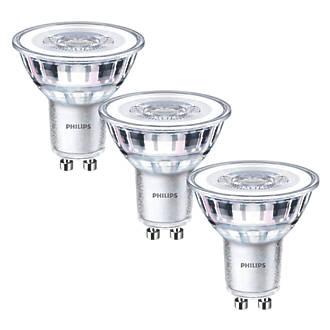 Philips   GU10 LED Light Bulb 355lm 4.6W 3 Pack