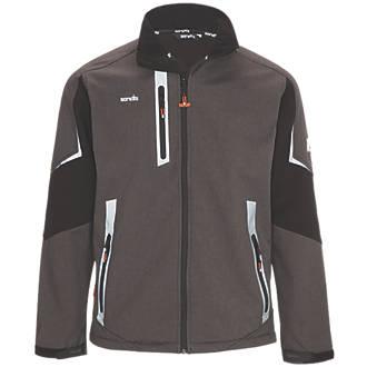 "Scruffs Pro Soft Shell Work Jacket Charcoal X Large 46"" Chest"