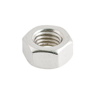 Easyfix A2 Stainless Steel Hex Nuts M12 100 Pack