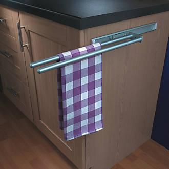 Hafele Aluminium Towel Rails 450mm