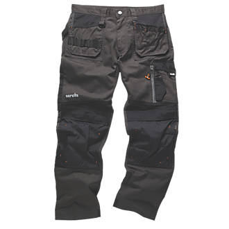 "Scruffs 3D Trade Trousers Graphite 30"" W 33"" L"