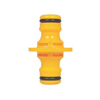 Hozelock Double-Ended Male Hose Connector