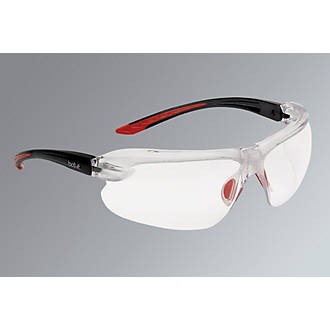 Bolle IRI-s Clear Lens Safety Specs With Magnification +3