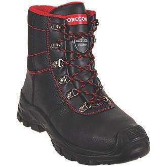 Oregon Sarawak  Safety Chainsaw Boots Black Size 9.5