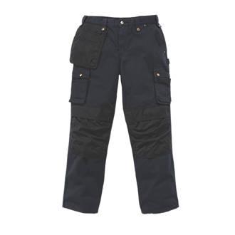 "Carhartt Ripstop Multi-Pocket Trousers Black 40"" W 32"" L"
